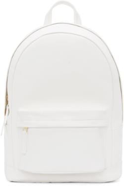 51d86b380a0 Women s backpack gold one color all white nautical from ssense ...