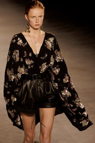 womens-fashion-outfit-florals-leather-sequins-all-black