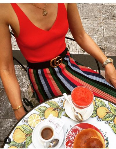womens-fashion-ootd-multicolor-big-jewelry-stripes