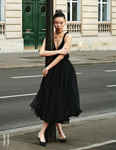 womens-fashion-outfit-polka-dots-black