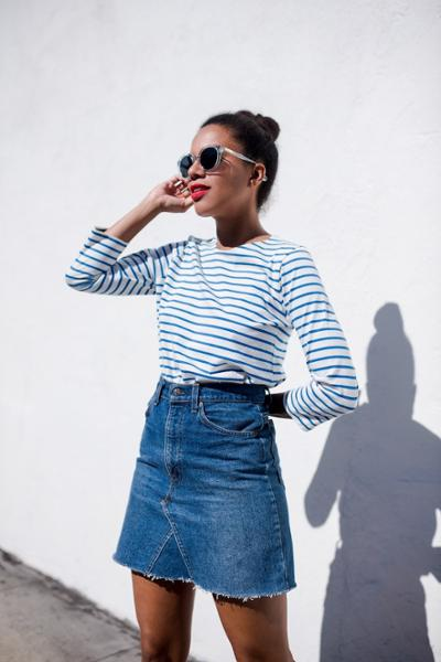 womens-fashion-look-blue-stripes
