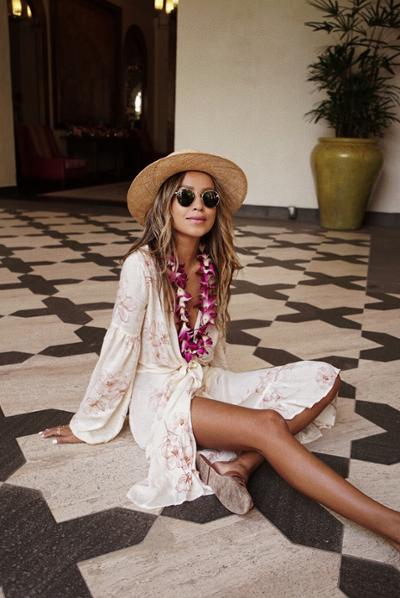 womens-fashion-outfit-florals-fedora-hats-bright-colors-chic-sunglasses