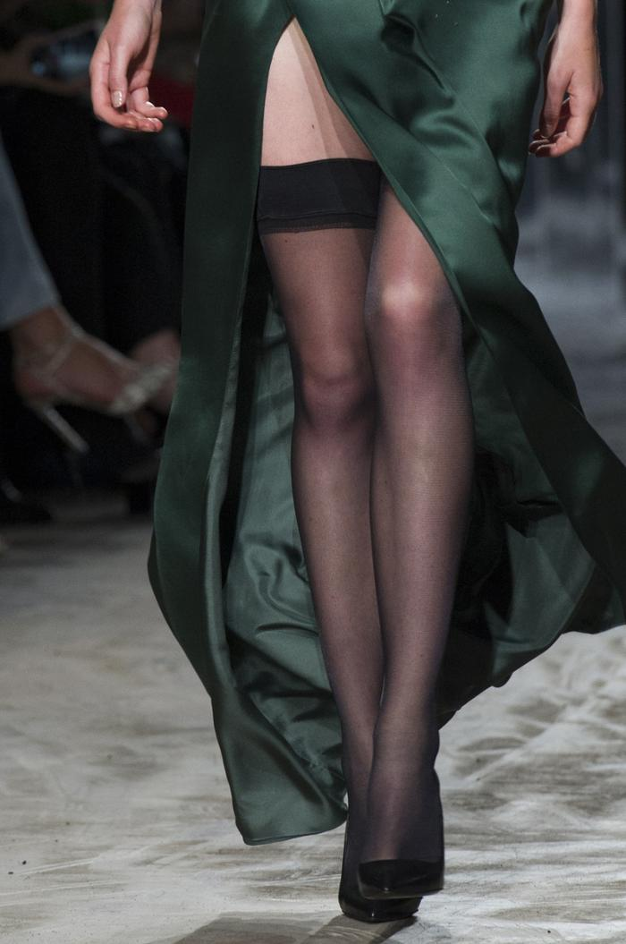 womens-fashion-ootd-green-silk-and-satin-fancy-tights-long-skirts