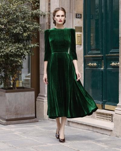 womens-fashion-ideas-green-velvet