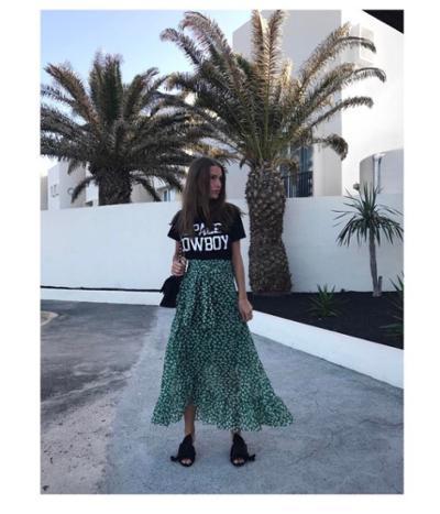 womens-style-inspiration-green-black-long-skirts