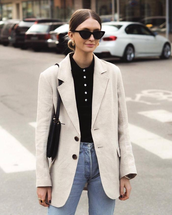 womens-fashion-outfit-black-denim-masculine-beige