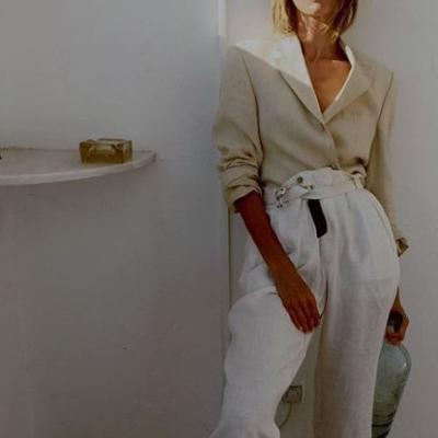 womens-fashion-look-white-masculine-khaki-seventies