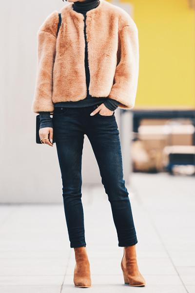 womens-fashion-ootd-one-color-fur-camel