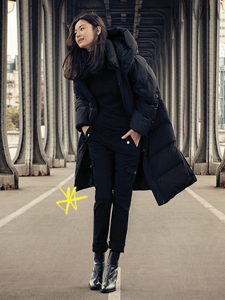 womens-fashion-outfit-winter-coats-black-one-color-puffer-coats