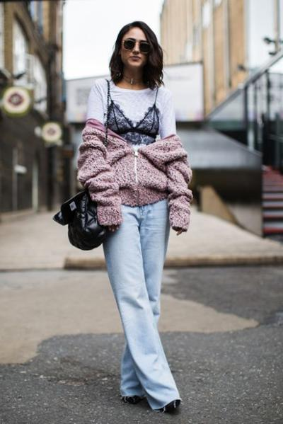 womens-fashion-inspiration-pink-lace-denim-laces-and-straps