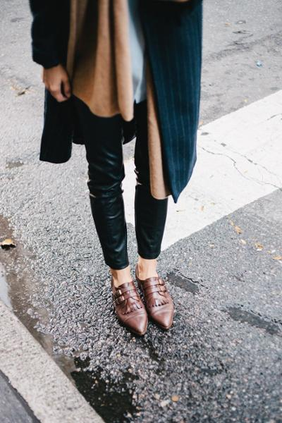 womens-fashion-look-black-brown-leather-skinny-pants
