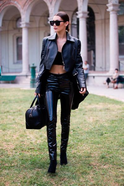 womens-fashion-ootd-leather-all-black-chic-sunglasses