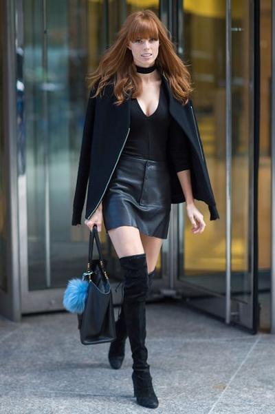 womens-fashion-ootd-black-leather-tall-boots-all-black