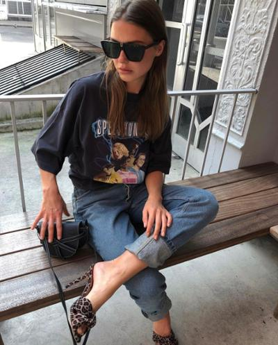 womens-fashion-outfit-black-denim-animal-chic-sunglasses