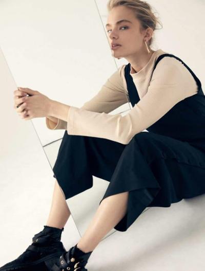 womens-fashion-look-black-beige-big-jewelry