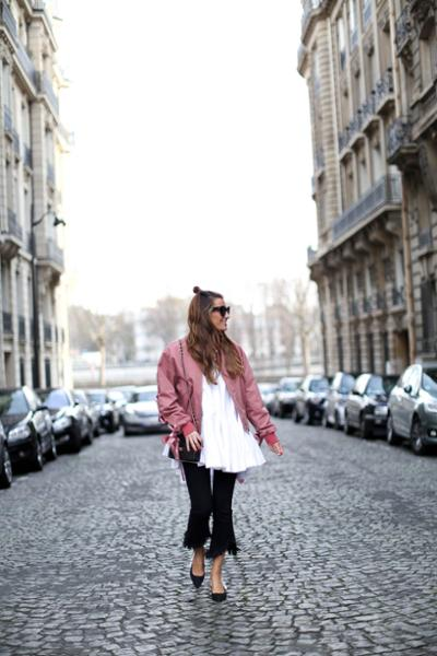 womens-fashion-ideas-pink-black-and-white