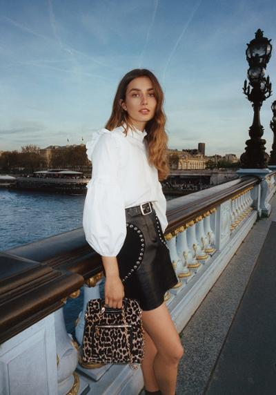 womens-fashion-outfit-studs-ruffles-black-and-white