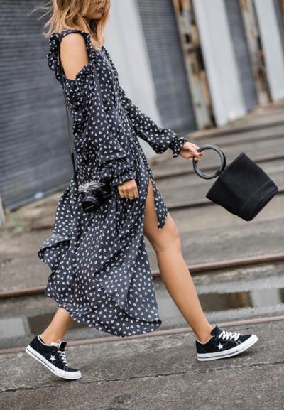 womens-fashion-ideas-ruffles-black-and-white