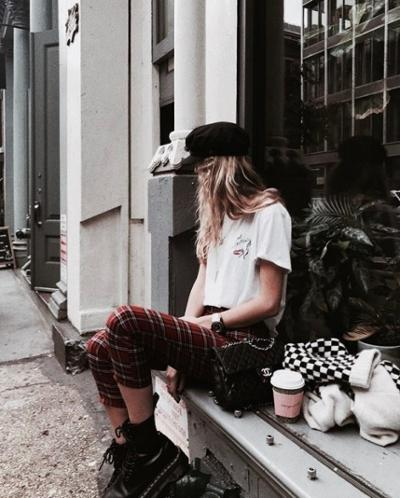 womens-fashion-outfit-black-plaid