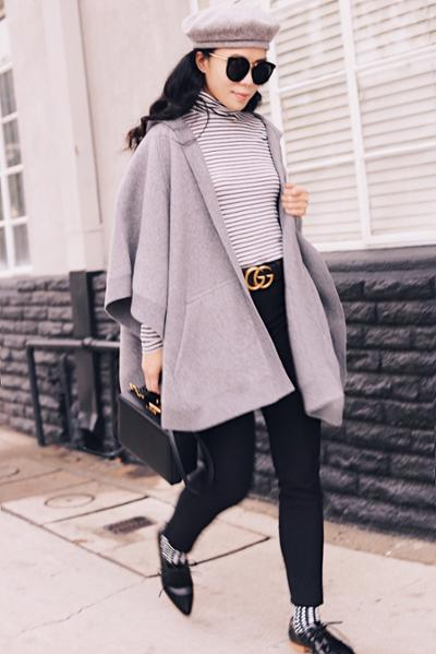 womens-fashion-inspiration-capes-and-ponchos-black-and-white