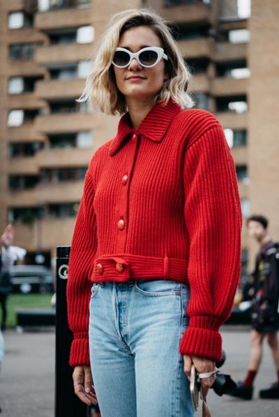 womens-style-inspiration-red-denim-chic-sunglasses