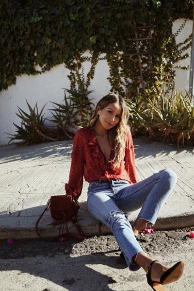 womens-fashion-look-denim-ruffles
