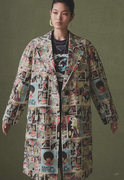 womens-fashion-outfit-masculine-prints-light-coats-multicolor
