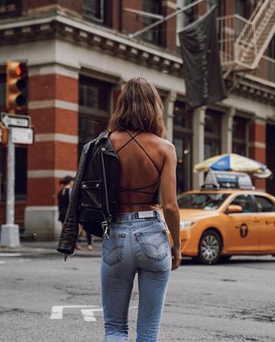 womens-fashion-inspiration-denim-motorcycle-studs