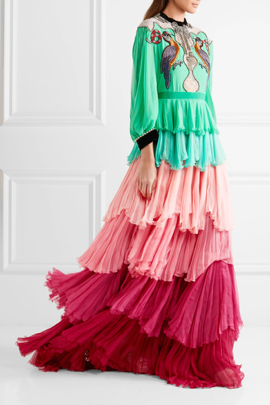 womens-style-inspiration-multicolor-silk-and-satin-ruffles