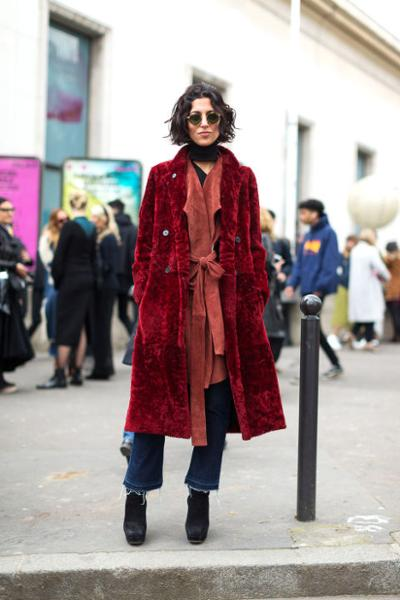 womens-fashion-inspiration-red-velvet-tall-boots-puffer-coats