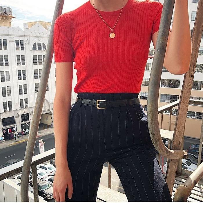 womens-fashion-ideas-red-stripes