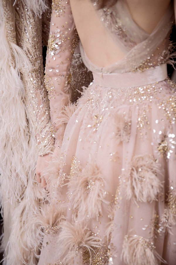womens-fashion-ootd-transparent-sequins-feathers