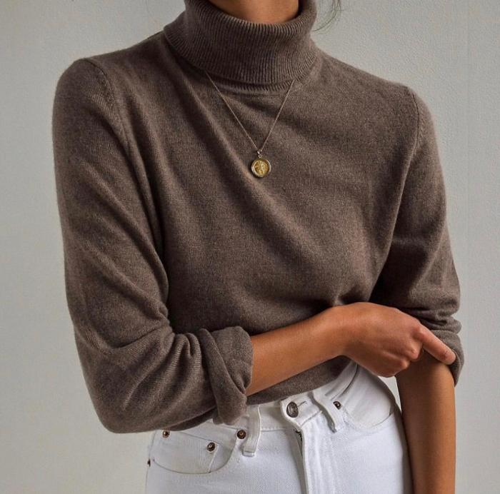 womens-fashion-ootd-white-gold-turtlenecks