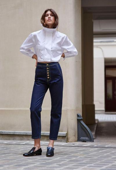 womens-fashion-inspiration-white-denim-turtlenecks