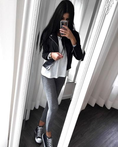 womens-fashion-ootd-black-grey-leather