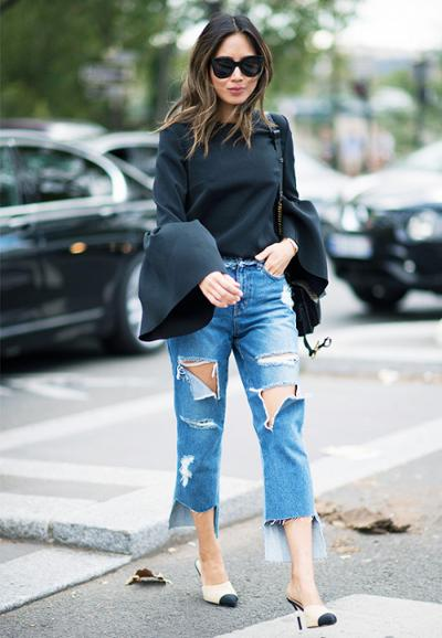 womens-fashion-look-boyfriend-jeans-huge-scarves-chic-sunglasses