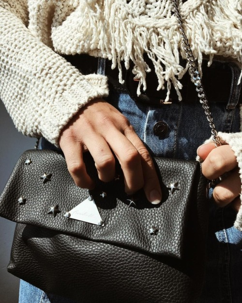womens-fashion-ideas-black-studs-chain-bags