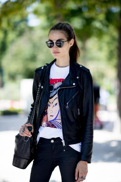 womens-style-inspiration-black-leather-chic-sunglasses