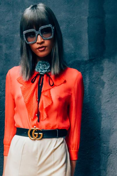 womens-fashion-look-multicolor-wide-belts-chic-sunglasses