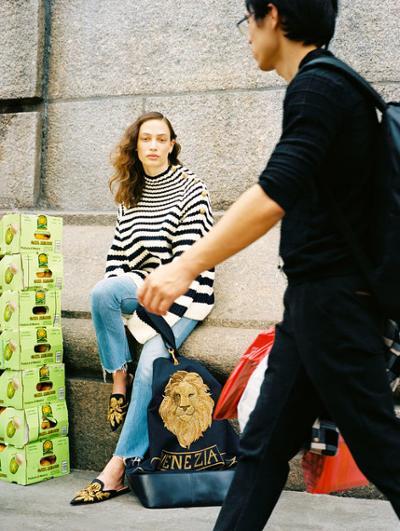 womens-fashion-ootd-denim-stripes
