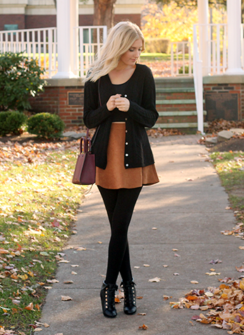 womens-fashion-outfit-black-copper-fancy-tights