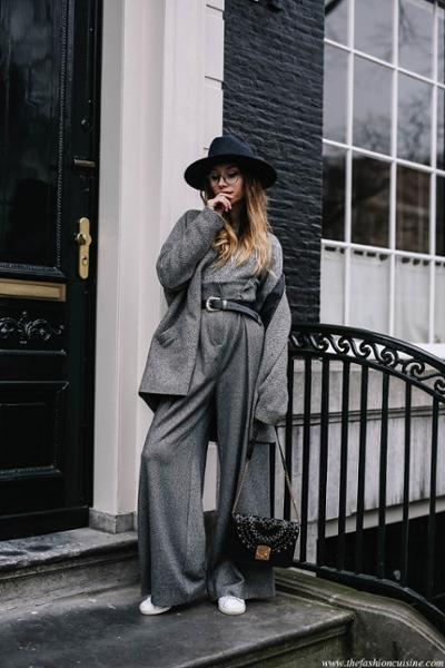 womens-fashion-outfit-grey-fedora-hats