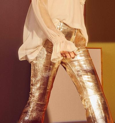 womens-fashion-look-gold-mesh-silk-and-satin