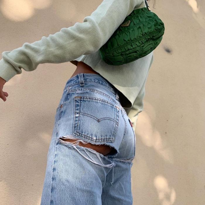 womens-fashion-photography-green-denim-ripped