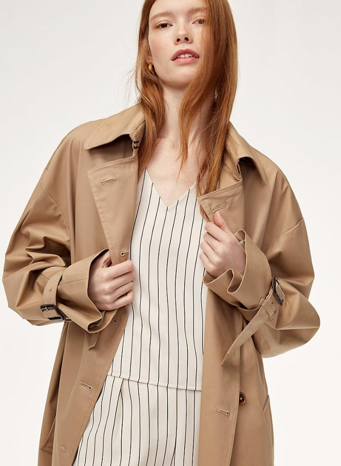 womens-fashion-ootd-light-coats-beige-stripes