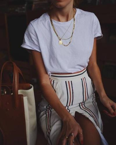 womens-fashion-look-white-stripes-long-skirts