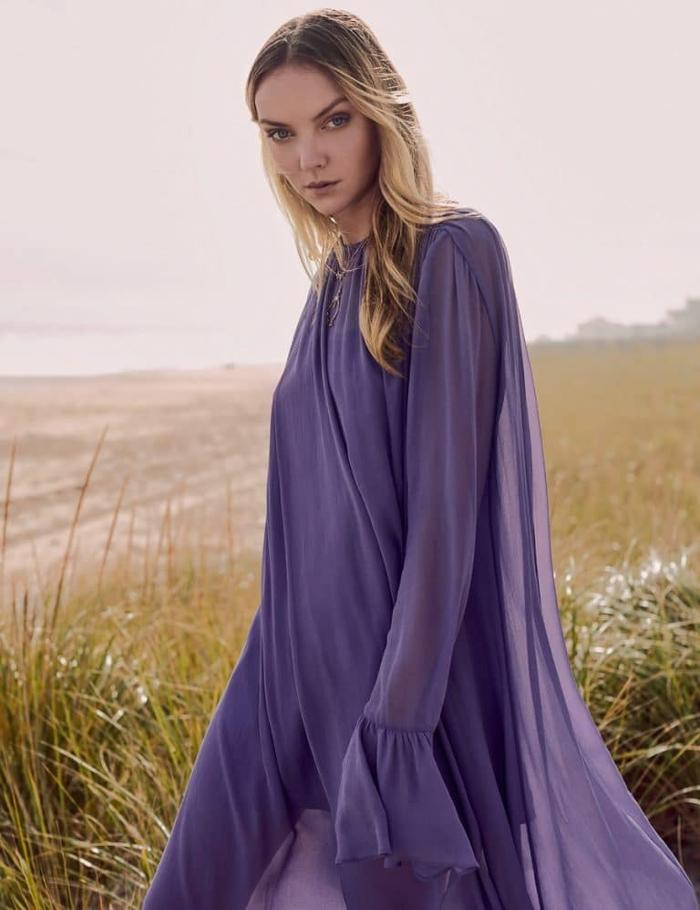 womens-fashion-look-purple-one-color-silk-and-satin