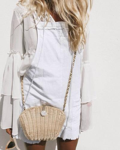 womens-fashion-inspiration-all-white-bright-colors-chain-bags