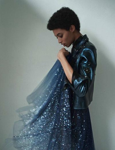 womens-fashion-inspiration-blue-black-leather-sequins