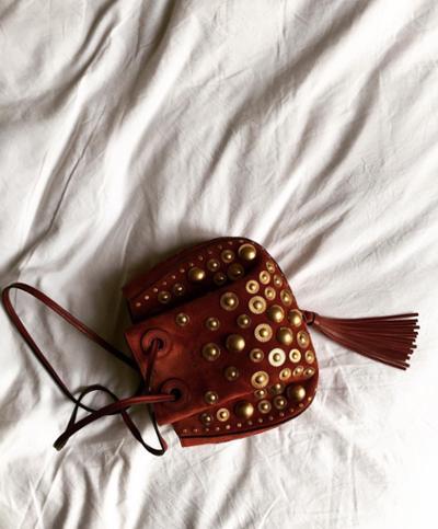 womens-fashion-ideas-gold-fringe-studs-burgundy